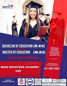 Teaching programs in UAE